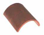 European Tile - Half Round Ridge