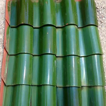 Brookville Green Spanish Tiles