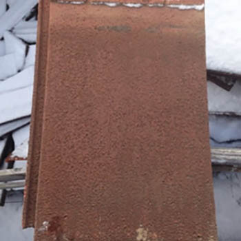 Brown Lightweight Interlocking Tiles
