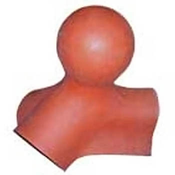 Salvaged Roof Tile Ball Terminal