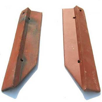 Salvaged Roof Tile Gable Rakes Spanish Tile
