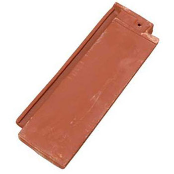 Roof Tile End Band Closed Shingle