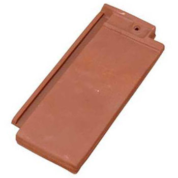 Roof Tile End Band English