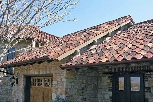 Rustic Mission Tile Roof