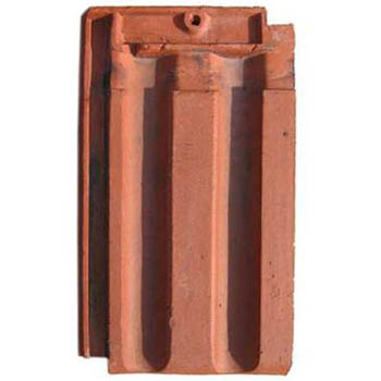 Salvaged Roof Tile French Natural Red
