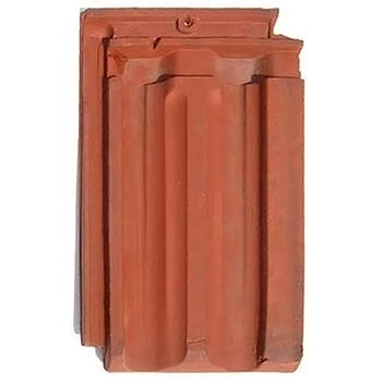 Salvaged Roof Tile Imperial French Natural Red