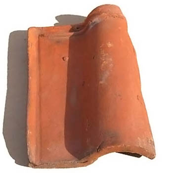 Salvaged Roof Tile Seville Spanish Tile